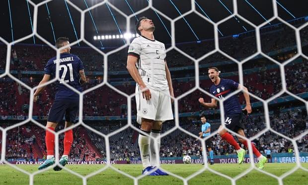 欧洲杯-胡梅尔斯摆乌龙 尤文中场中柱 法国胜德国