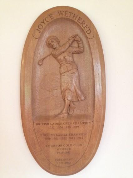 梯富顿高尔夫俱乐部韦泽德纪念牌