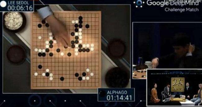 """面对AlphaGo马会传真香港马会开码 直播结果,李世石弈出""""神之一手"""""""