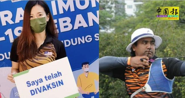 马来西亚公布奥运双旗手 羽球美女搭档射箭型男