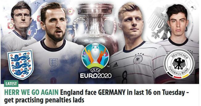 【博狗体育】英媒调侃英格兰再遇德国:该开始练习罚点球了