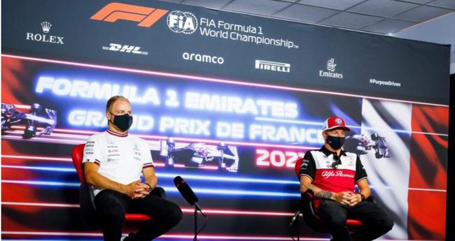 【博狗体育】传莱科宁年底F1退役 博塔斯2022加盟阿尔法罗密欧