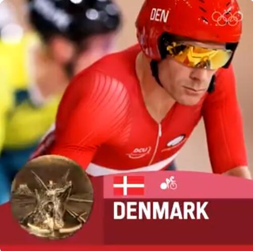 男子麦迪逊赛丹麦队夺冠 英法同分英国先冲线摘银