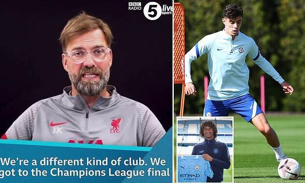 克洛普:利物浦不能乱花钱 我们学不了曼城切尔西