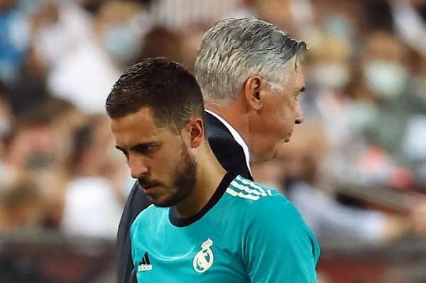 安切洛蒂:阿扎尔可以上场  但我有时宁选其他球员