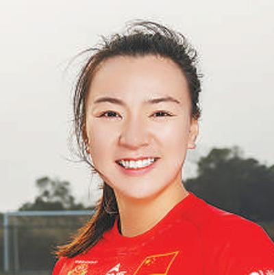 中国女子橄榄球运动员陈可怡:享受拼搏 我很快乐