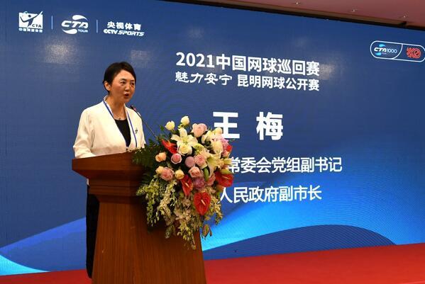 安宁市人民政府副市长王梅