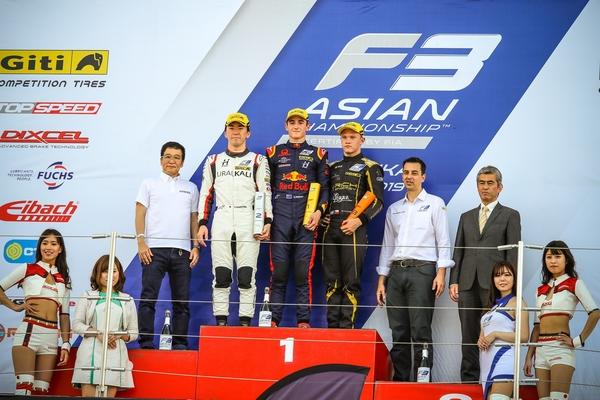 亞洲三級方程式錦標賽日本鈴鹿站杰克-杜漢第七回合奪冠