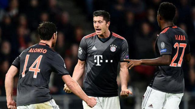 阿隆索:莱万最好留在拜仁 他是当世最佳9号之一