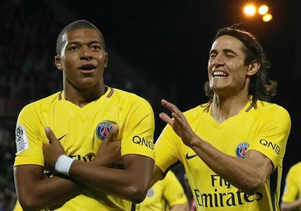 姆巴佩:祝福老队友卡瓦尼好运 但巴黎要干掉曼联