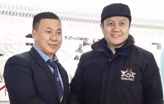 中国健美协会秘书长古桥陪同考察