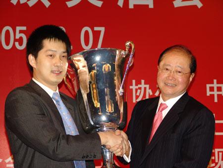 答氏杯终于交到了中国棋手手中