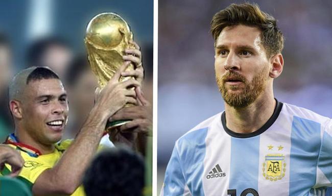 梅西登顶世界杯不是2018世界杯梦?02年巴西为他写好剧本