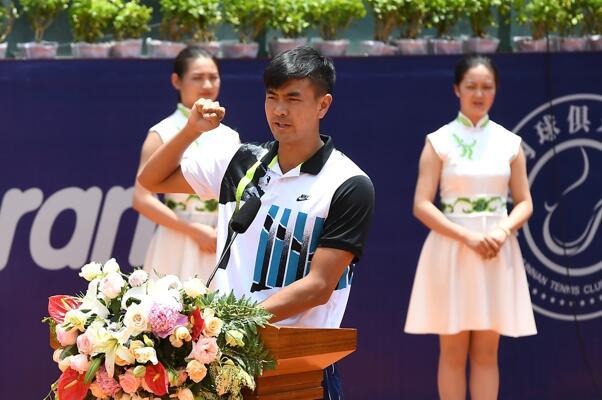 运动员代表王瑞凯