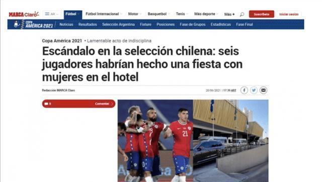 比达尔否认智利球员招妓丑闻:应支持而不是编故事
