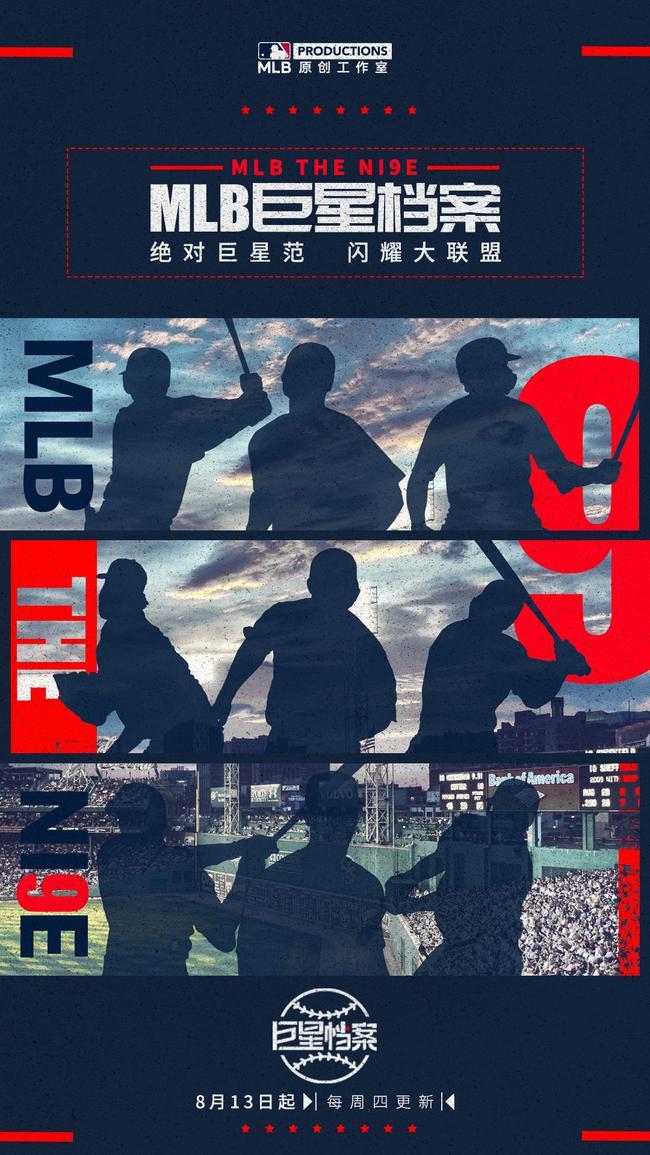 《MLB巨星档案》上线九大巨星带你领略棒球魅力