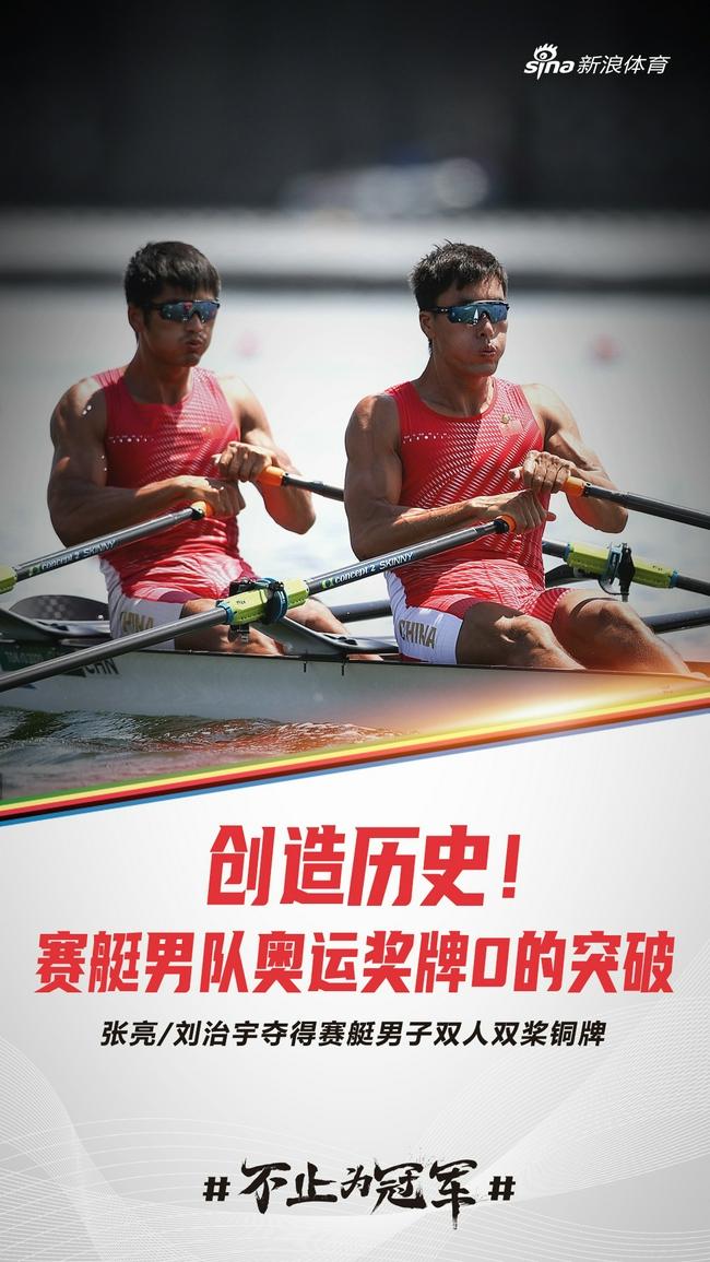 张亮/刘治宇摘铜 中国男子赛艇获奥运首枚奖牌-第3张图片-爱博体育