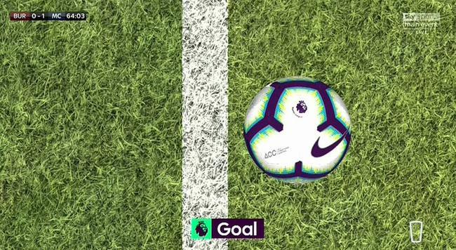门线技术判定阿圭罗进球有效
