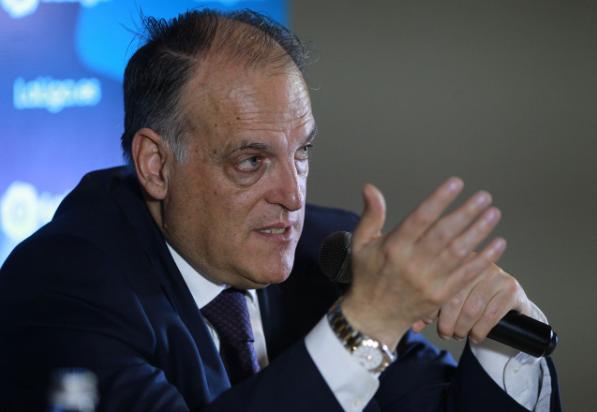 西甲主席反对欧洲超级联赛:这计划疯狂又愚蠢