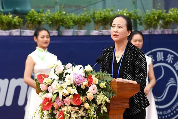 云南省体育局副局长吴亚敏