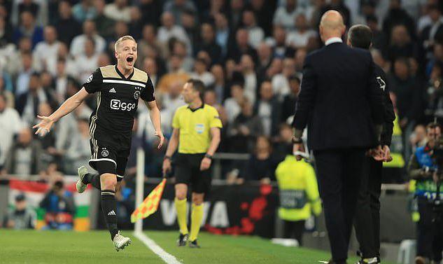 曼联贴近4000万欧元签订桑普多利亚中场范德贝克