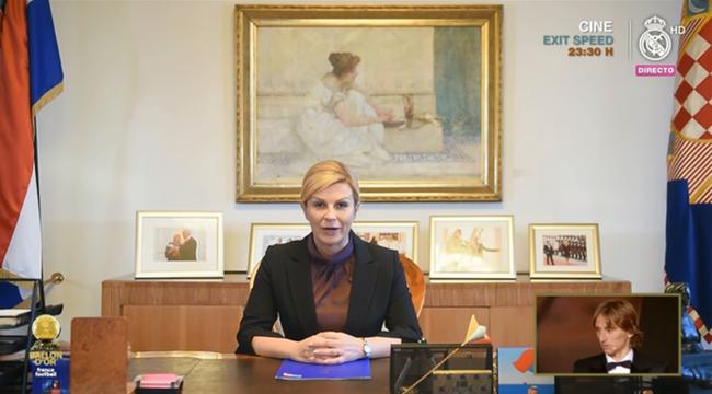 克罗地亚总统向魔笛外示祝贺