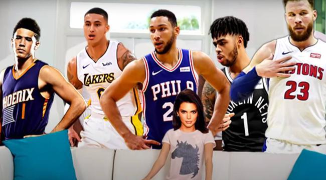 1套季后赛首发级别的阵容!詹娜真是NBA收割机