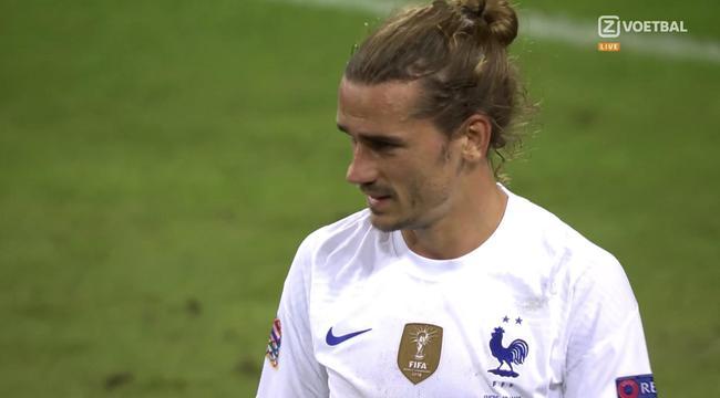 格列兹曼在中国国家队持续三次失点欧国联第一轮