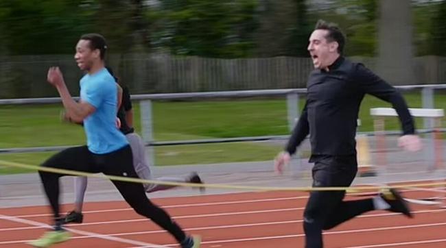 与奥运金牌热门竞赛 曼联传奇领跑10米却拉伤退赛