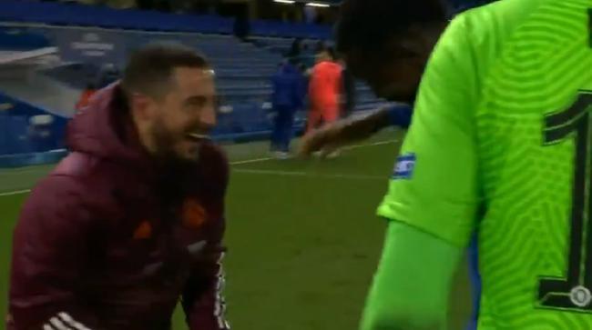 阿扎尔输球与切尔西队员说笑 名宿:C罗不会为皇马笑