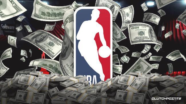 2018-19赛季的篮球相关收入约为87.6亿美元