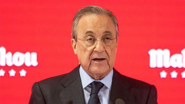 """皇马主席:希望梅西留在巴萨 没和姆巴佩谈过转会"""""""