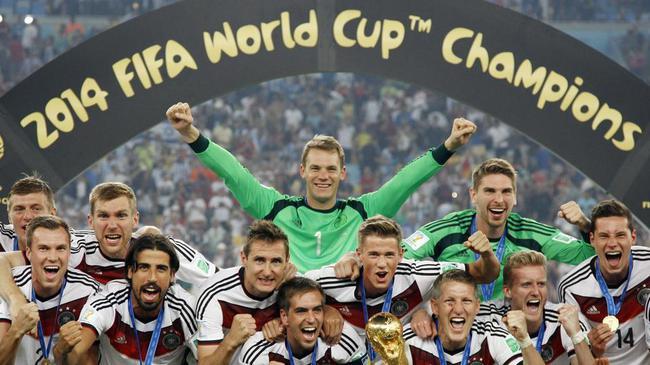 衛冕冠軍德國隊