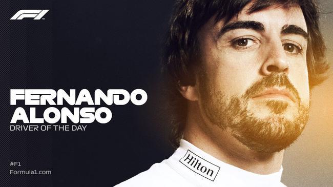 阿隆索告别F1车坛