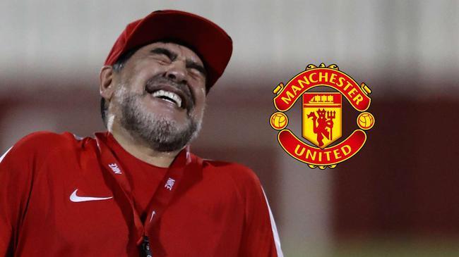 马拉多纳:我适合当曼联教练 能带红魔赢得冠军