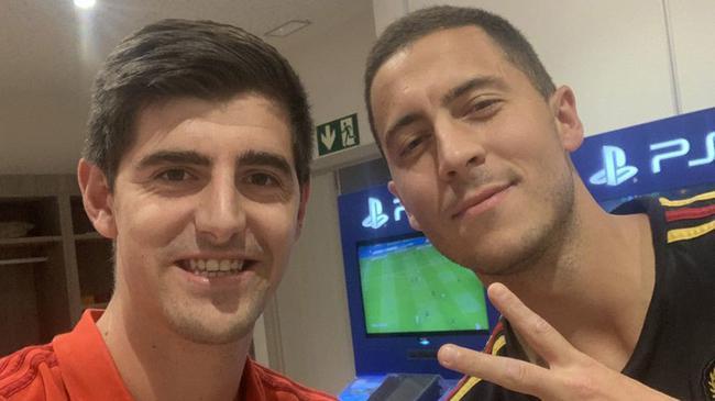 库尔图瓦晒照欢迎阿扎尔:欢迎来到世界最佳球队
