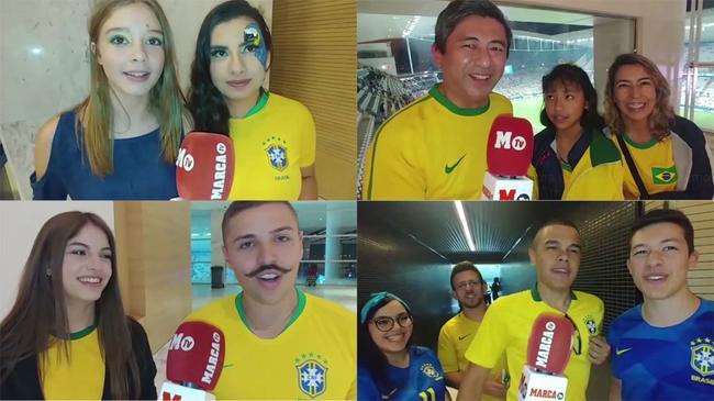 巴西球迷希望遭遇阿根廷