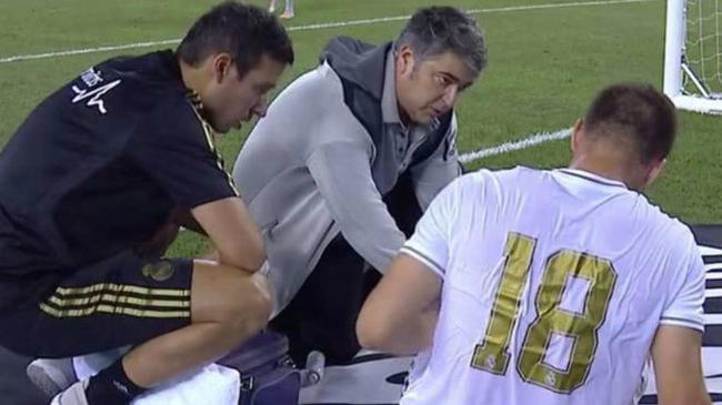 皇马新赛季还没踢已伤4人 6000万新援受伤离场