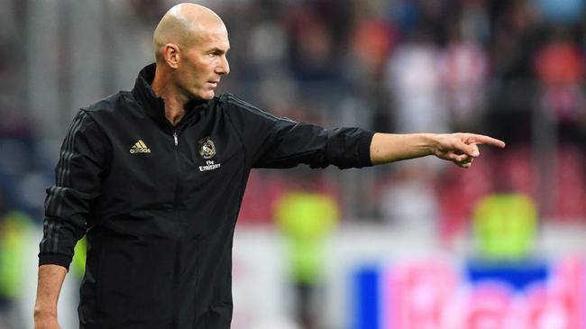 齐祖眼中西甲比欧冠更重要:联赛是皇马首要目标