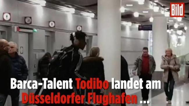 托迪博被拍到现身德国