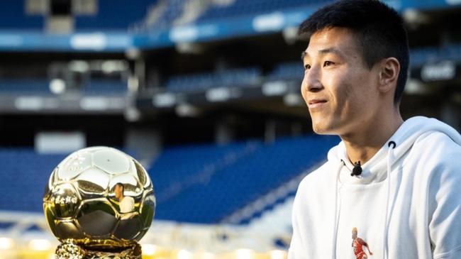 武磊将获得2019中国金球奖