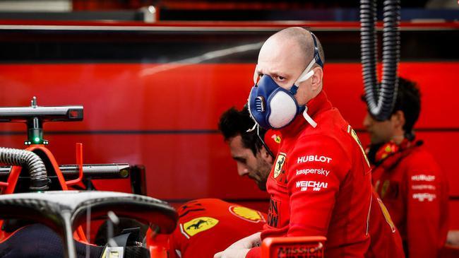 F1车队4人展现感冒迹象