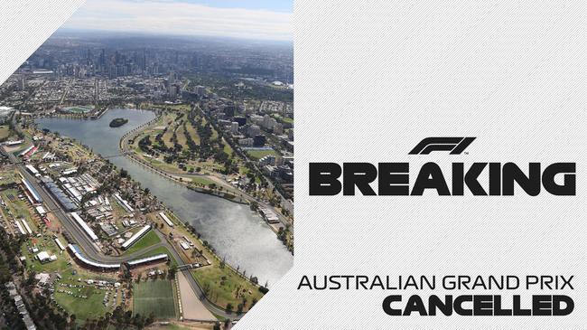 官宣!F1澳大利亚大奖赛作废