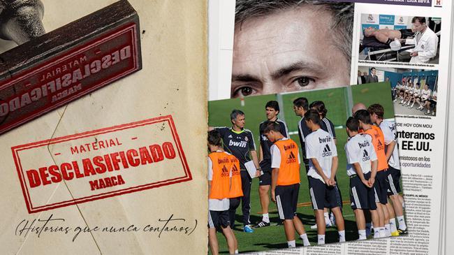 穆里尼奥加盟皇家马德里大声疾呼球队重申纪律