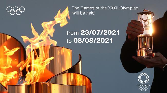 2020東京奧運會延遲到什么時候開始