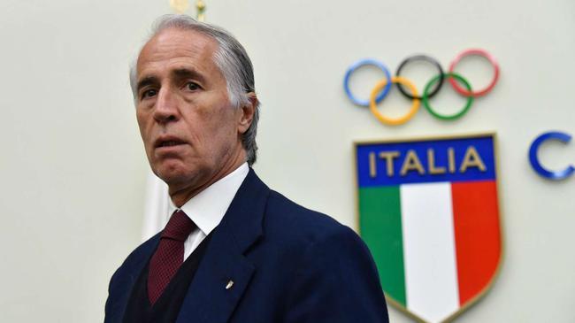 意大利奥委会主席马拉戈