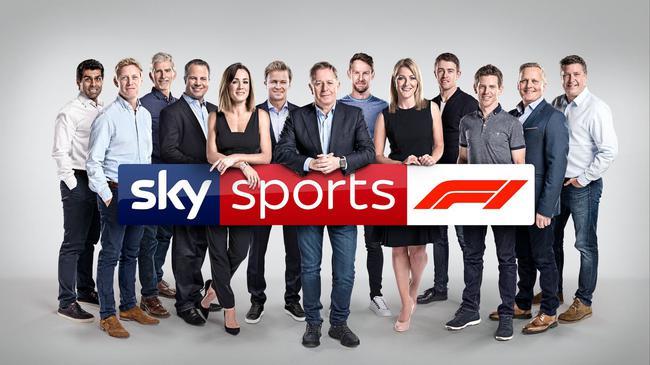 天空体育电视台F1报道团队