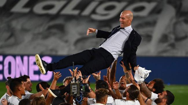 齐达内:欧冠是欧冠 西甲夺冠让我更加快乐
