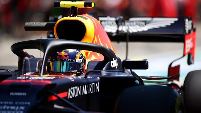 阿尔本在F1比利时大奖赛中