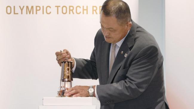 9月1日起 东奥圣火在日本奥林匹克博物馆公开展示